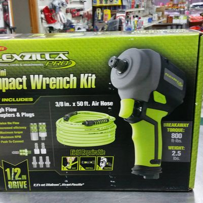 Mini impact Wrench Kit by Flexzilla Pro